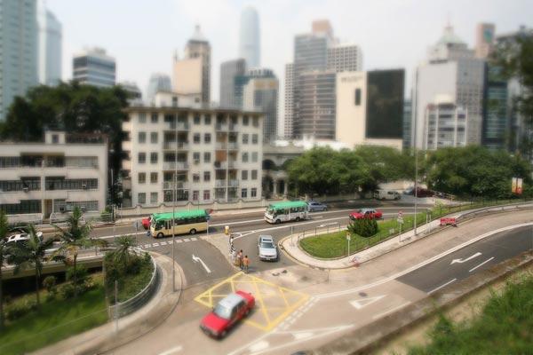 En bild jag tog i Hong Kong. Redigerad i efterhand för att passa in i den nya trenden.