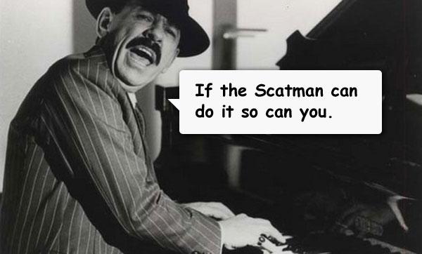 Tänkvärda ord från Scatman John