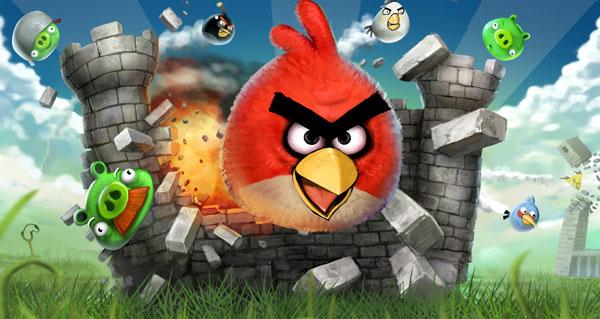 Spelet Angry Birds har gett de nya medievanorna ett ansikte. Och de slår undan allt i sin väg, look out!