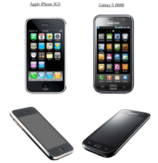 apple-iphone-3gs-vs-galaxy-S-i9000-design-patent