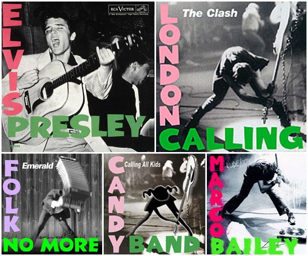 The Clash lånar av Elvis Presley, sen går resten av bara farten.