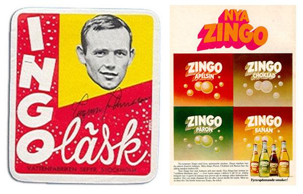 Ingo-läsk döps om till Zingo efter att Ingemar Johansson förlorat två gånger mot Floyd Patterson.